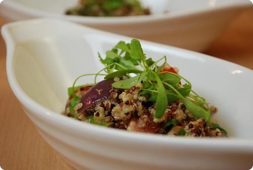 Quinoa spargel salat
